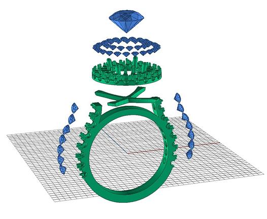 Diamond Rings Internationale CAD CAM Jewellery